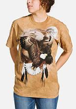 3D футболка женская The Mountain р.S 46 RU футболки женские с 3д рисунком (Щит Орлицы)