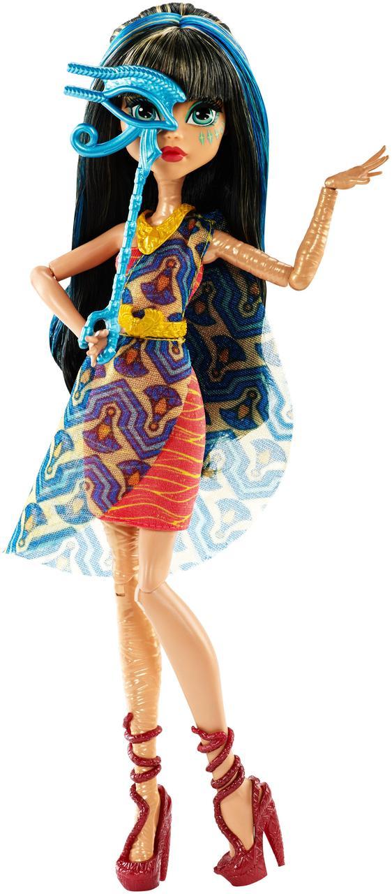Кукла Monster High Cleo De NileThe Fright Away Монстр Хай Клео де Нил Танец без страха