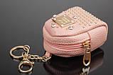 Брелок/кошелек рюкзак с заклепками и стразами, фото 5