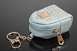 Брелок/кошелек рюкзак с заклепками и стразами, фото 8