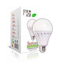 Світлодіодна LED лампа SunLed Standart 12W E27 4100K тип А70 1020Лм