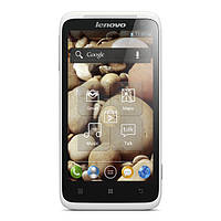 "Смартфон Lenovo S720 White / 2sim / 2 ядра / экран 4.5"" IPS, 960x540 / 8MP / Wi-Fi / А-GPS / 3G"