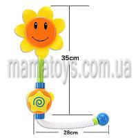 Водопад игрушка для ванной малышам. 9904 подсолнух