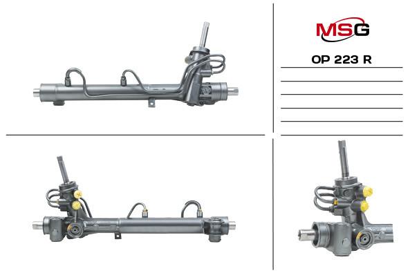 Рулевая рейка с ГУР Opel Meriva OP223R