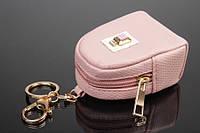 Брелок/ключница/кошелек в форме рюкзачка пудровый
