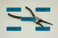 Щипцы для снятия стопорных колец прямые на сжим 175 мм СИЛА  (310706)