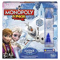 Настольная игра Моя первая Монополия Холодное сердце. Оригинал Hasbro Games