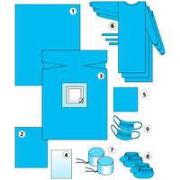 Комплект одягу та покриттів операційних для лапароскопії № 2 /Б«Славна®», фото 1
