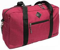 Небольшая дорожная сумка, саквояж 21 л. Wallaby, 2550 burgundy, бордовый