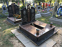 Двойной памятник из жадковського гранита