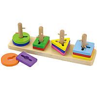 Головоломка Форма и цвет Viga toys (50968)