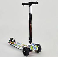 Самокат Best Scooter светящиеся колеса, фото 1