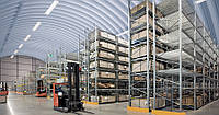 Монтаж металлоконструкций складов и ангаров
