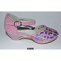 Нарядные туфли для девочки, 28 размер, праздничные туфельки на утренник, выпускной