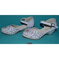 Нарядные туфли для девочки 27 размер, праздничные туфельки на утренник, выпускной