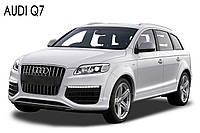 Audi Q7 - замена линз на биксеноновые линзы KOITO D1S