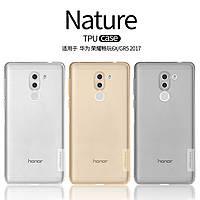 TPU чехол Nillkin Nature Series для Huawei Honor 6X / Mate 9 Lite / GR5 2017