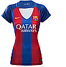 Женская футболка Барселоны. Сезон 2016-2017 (домашняя)