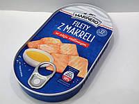 Консервированная скумбрия Marinero Filety z makreli в масле, 170гр.
