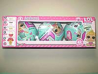 Кукла LOL, набор из 3 шаров (аналог), фото 1