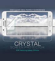 Защитная пленка Nillkin Crystal для Samsung G610F Galaxy J7 Prime (2016)