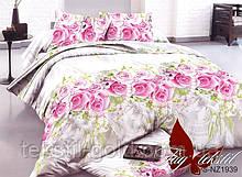 1,5-спальный комплект постельного белья 3D ТМ TAG Полисатин PS-NZ1939