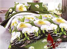 1,5-спальный комплект постельного белья 3D ТМ TAG Полисатин PS-NZ1940