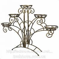 Кованые подставки для цветов и вазонов для дома в год Металлической Лошади.