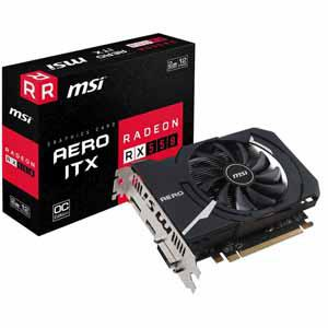 "Видеокарта MSI RX 560 Aero ITX OC 4GB GDDR5 128bit ""Over-Stock"" Б/У"