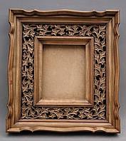 Киот деревянный в византийском стиле.