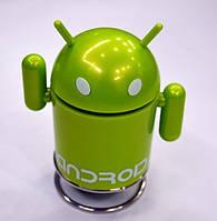Портативная колонка Android Robot TF, MicroSD, радио, FM