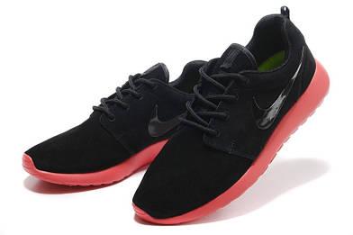 Мужские кроссовки Nike roshe run замшевые