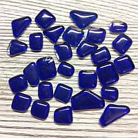 Мозаика Soft-Glass Синяя многоугольная 50г Mosaikstein