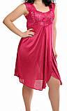 Жіноча сорочка з мереживом, колір різний, фото 6