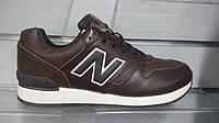 Кроссовки New Balance  коричневые зима