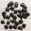 Мозаика Soft-Glass Черная многоугольная 50г Mosaikstein