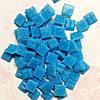 Мозаика Joy-Glass Голубая керамика 10мм*10мм 100г Mosaikstein