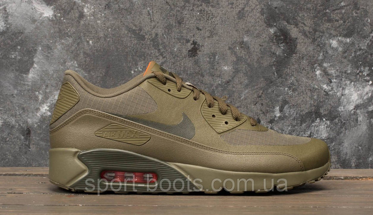 Nike Air Max 90 Ultra 2.0 Flyknit Mens Olive FlakCargo