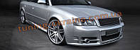 Комплект аэродинамического обвеса в стиле S-line на Audi A6 C5 1997-2004