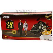 Растворимый кофе 3в1 с сахаром и сливками G7 Вьетнам