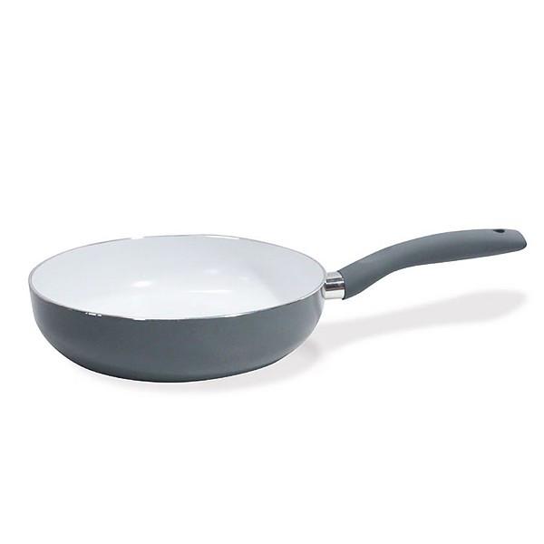 Сковорода глубокая Fissman RUMBA 24 см (Керамическое антипригарное покрытие с индукционным дном)
