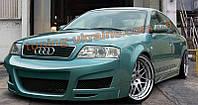 Комплект аэродинамического обвеса в стилеShadow на Audi A6 C5 1997-2004