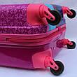 Чемодан дорожный детский с кодовым замком 55 см ручная кладь Холодное Сердце Frozen 2561-67, фото 5