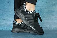 Мужские кроссовки adidas Черные 10336 р. 44