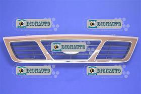 Решетка радиатора Нексия JH010996007-3 хром без эмблемы ДЭУ Nexia (96209251)
