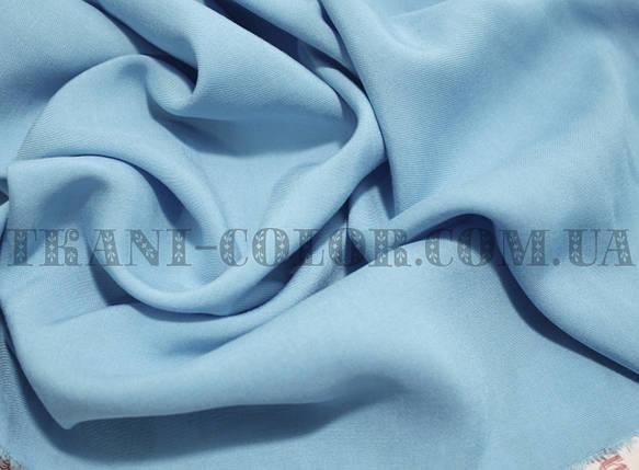 Ткань штапель голубой, фото 2