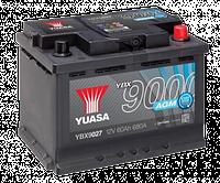 Аккумулятор YUASA AGM Start Stop Plus Battery 60Ah (680A) -/+ (0) YBX9027