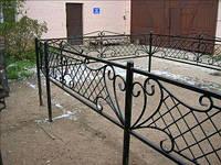 Оградка на кладбище кованая  -30