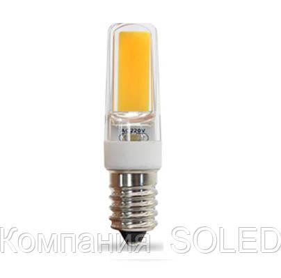 Светодиодная лампа 5w COB 500Lm 4500K E14