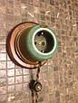 Розетка з заземленням,Oliva , серія Lux, фото 7